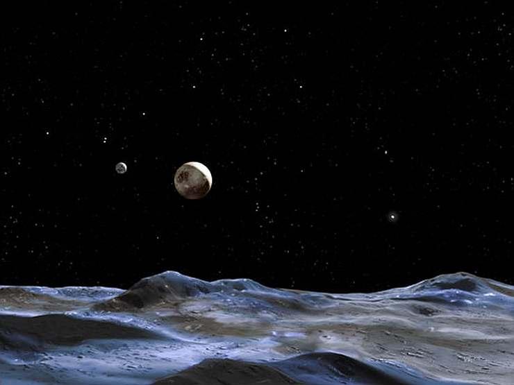Так может выглядеть поверхность Плутона