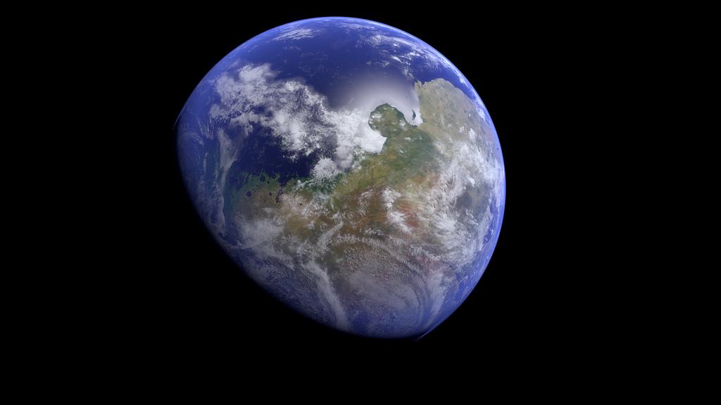 Так, вероятно, выглядела планета в прошлом