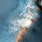 Восточный закраина кратера Endeavour