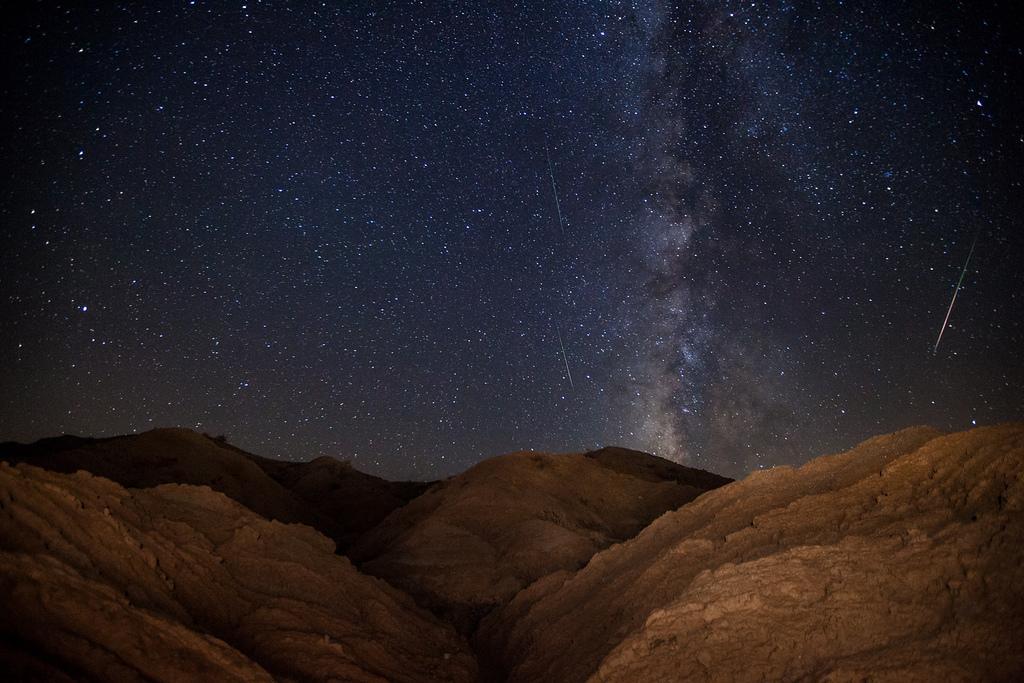 Млечный путь и Персеиды