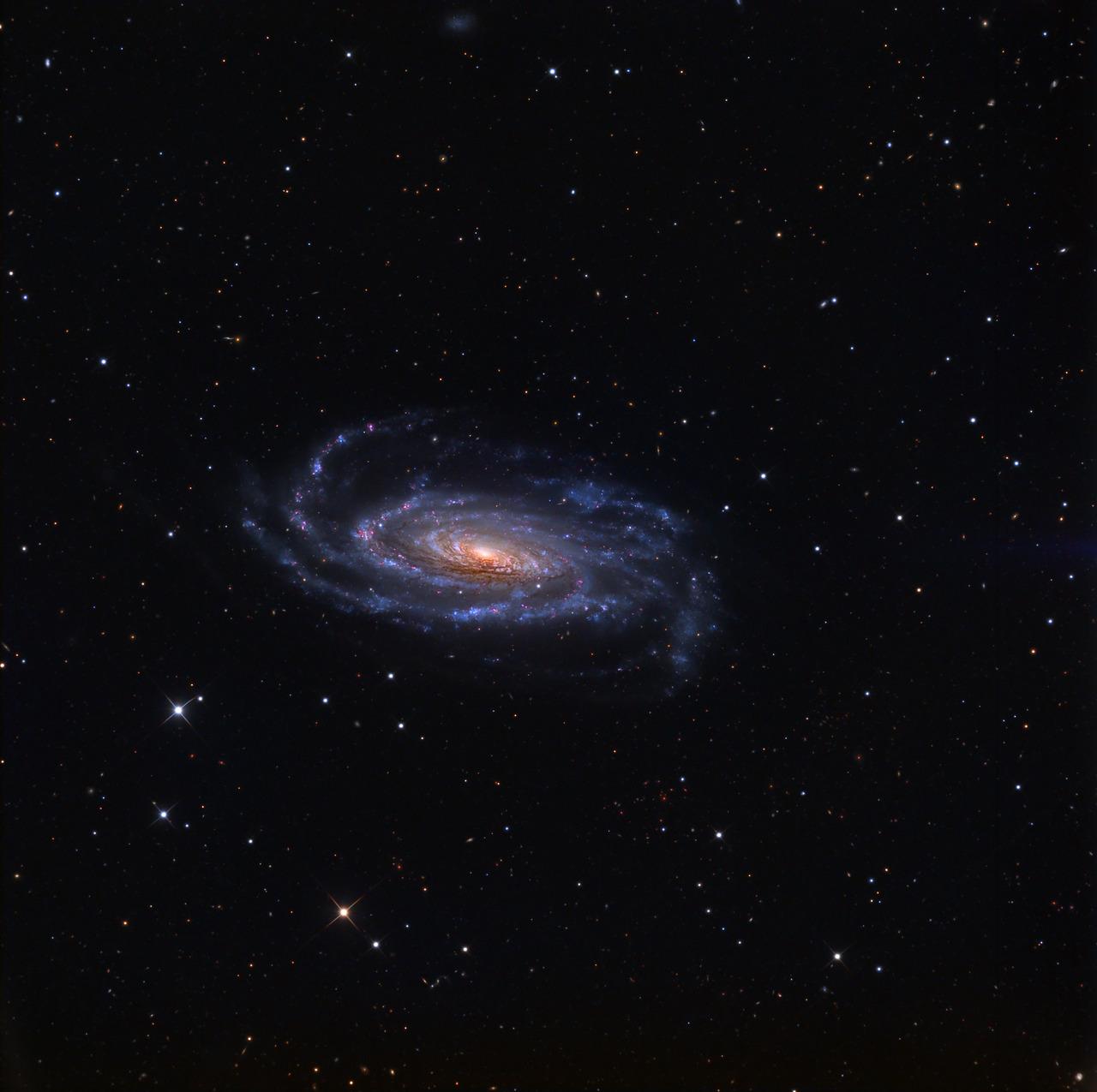 Спиральная галактика NGC 5033