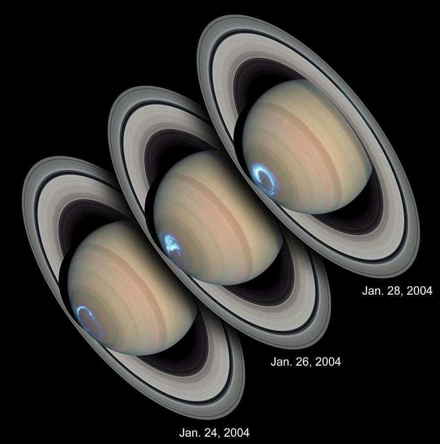 Сатурн, один из самых зрелищных снимков