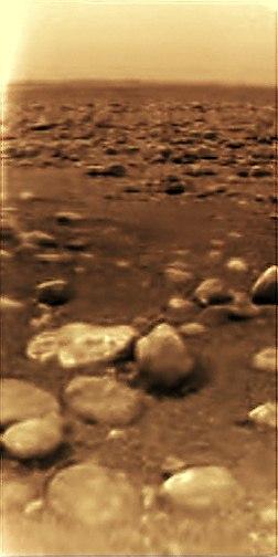 25 декабря 2004 года, зонд Гюйгенс совершил посадку на поверхность