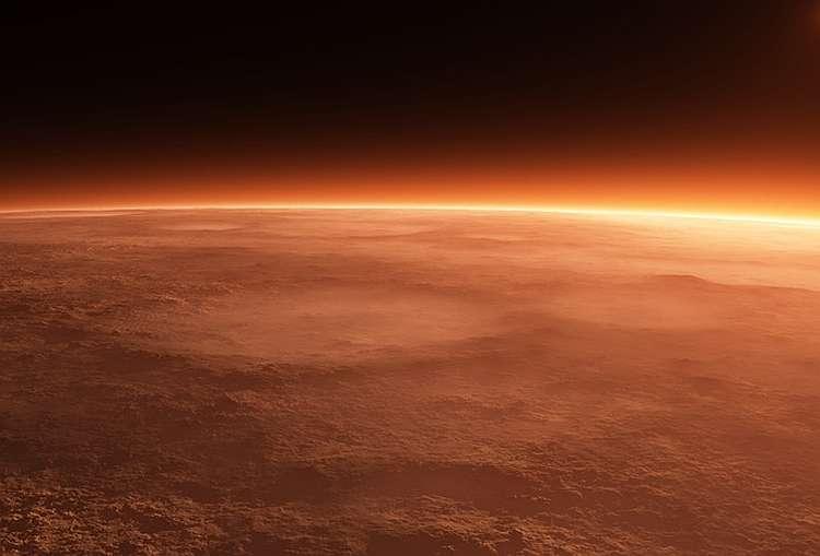 Атмосфера планеты, рисунок