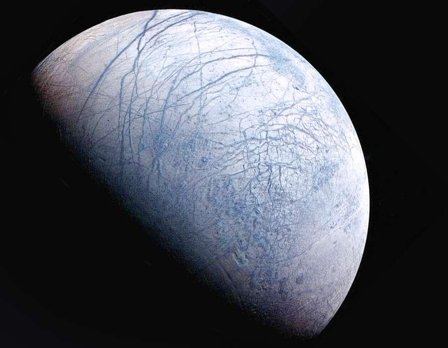 Ледяная луна Юпитера
