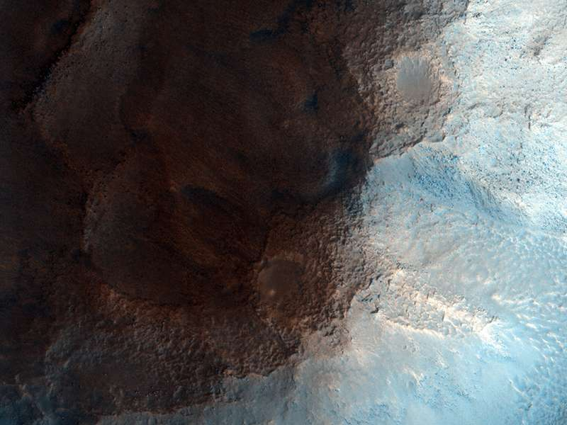Лицо на Марсе, популярный рельефа в области Сидония