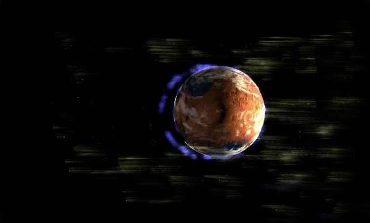 Магнитное поле Марса