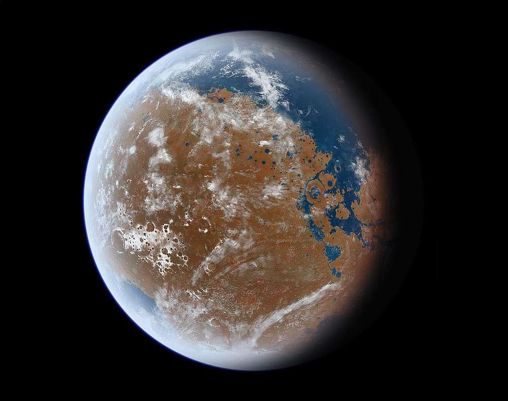 Планета после терраформинга