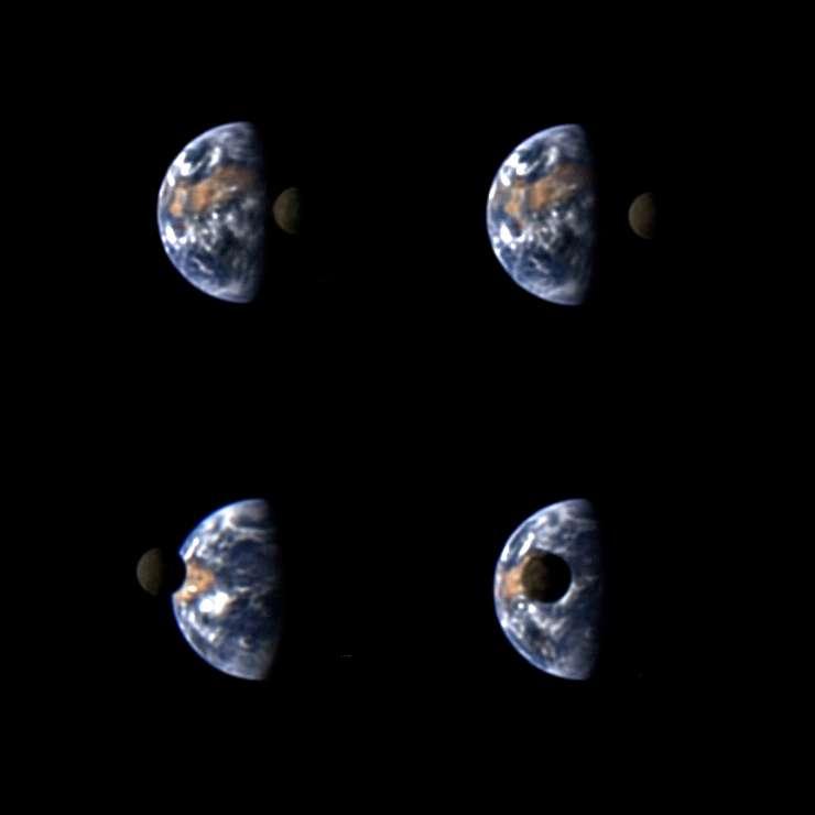 Снимки космического аппарата Deep Impact