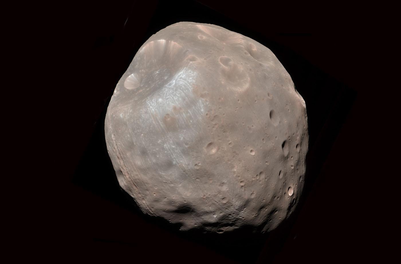 Спутника Марса Фобос
