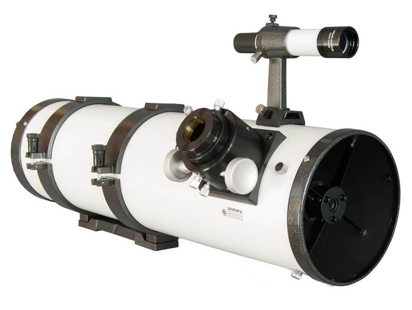 Внешний вид рефлектора Ньютона