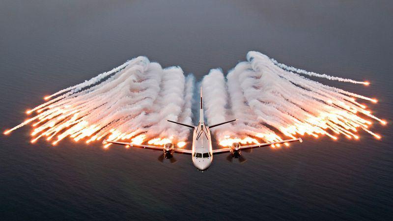 Ангел с пассажирского самолета