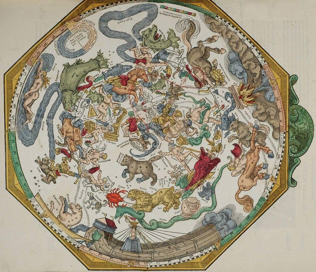 Астрономический глобус 1540 года