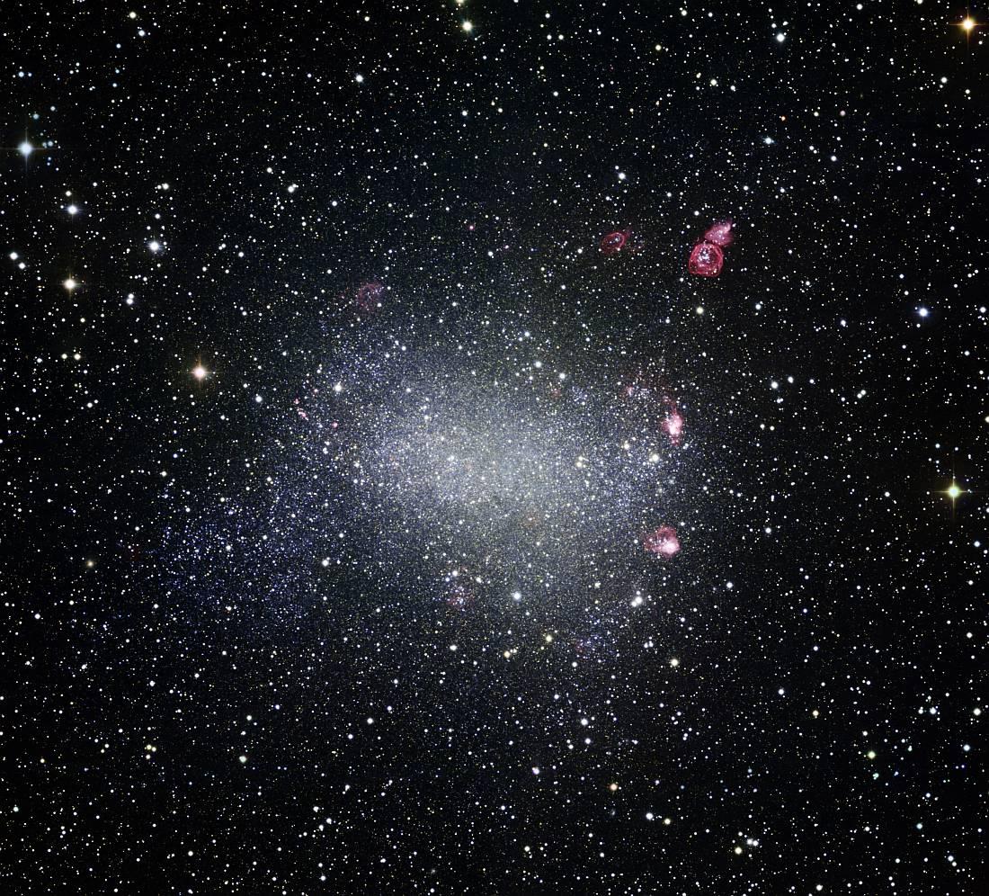 Галактика NGC 6822