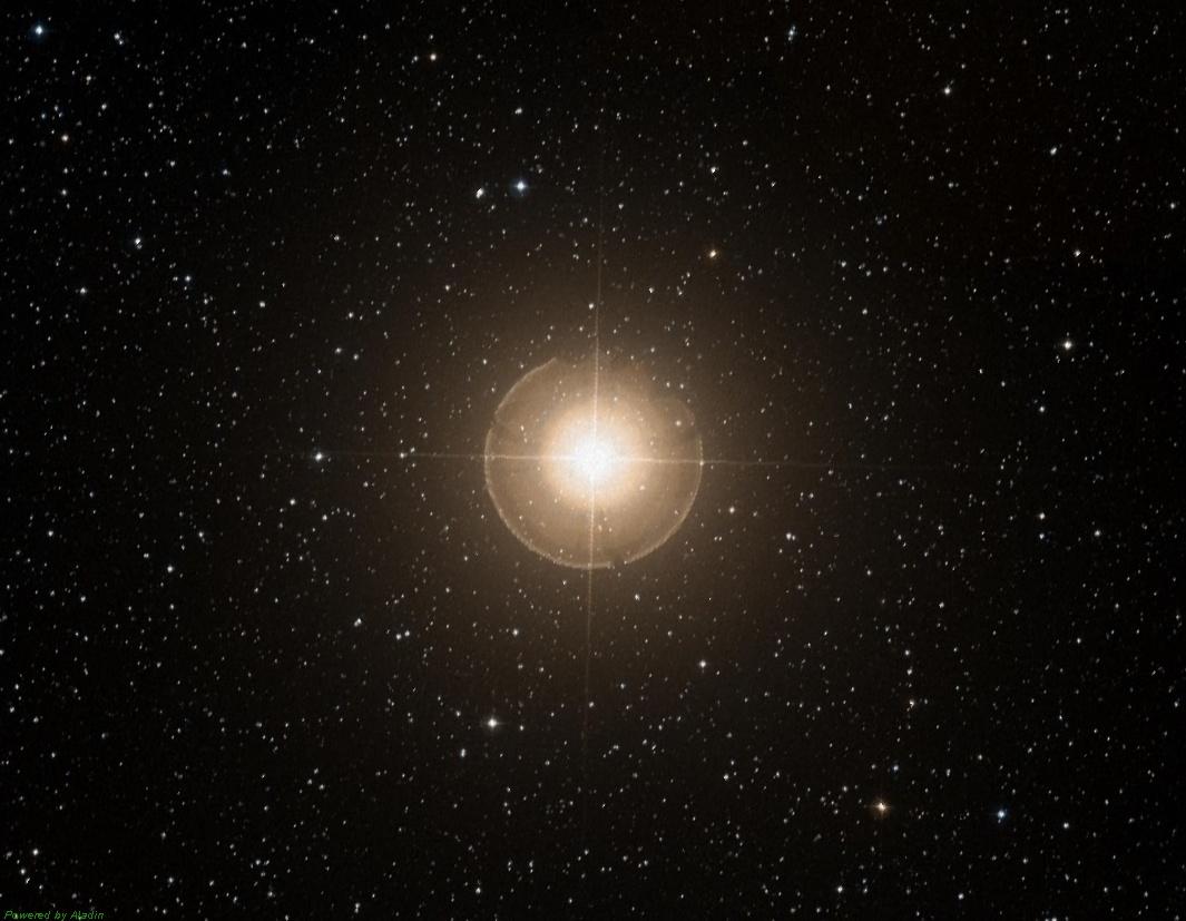 Гамма Андромеды или Альмак