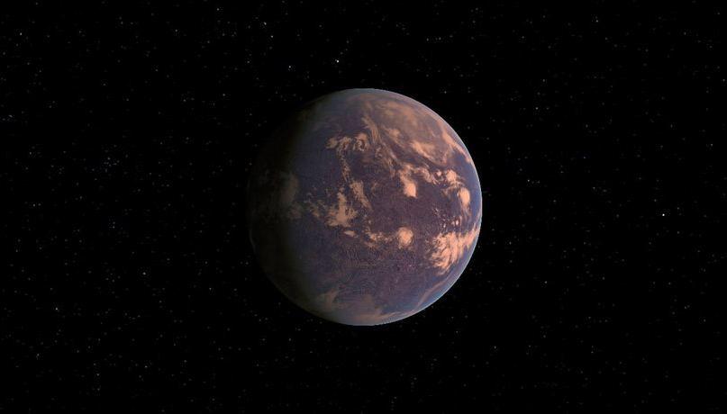 Gliese 581 d temperature