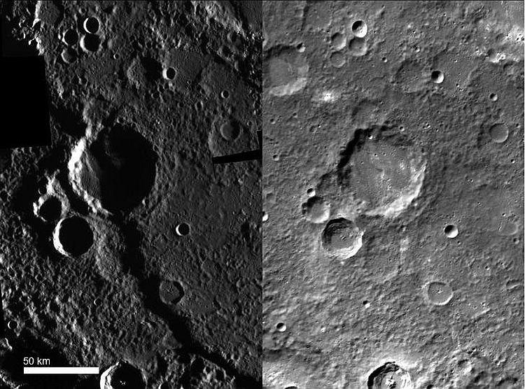 Каньон на Меркурии