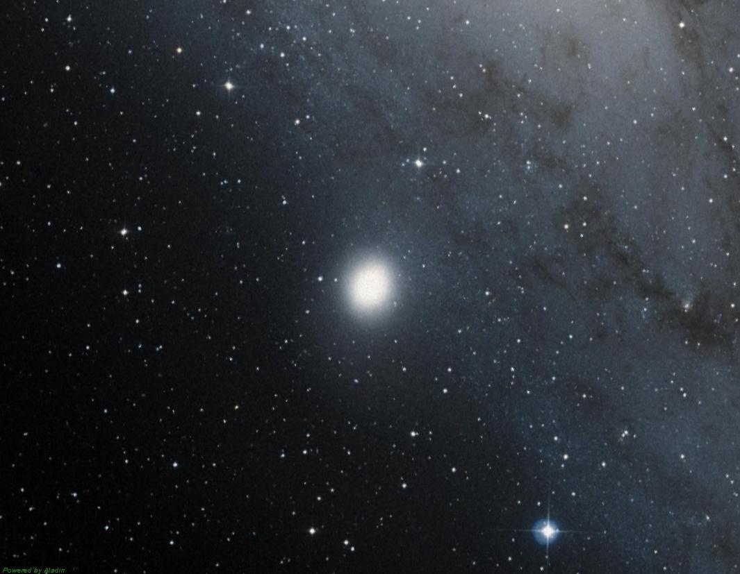 Карликовая эллиптическая галактика M32