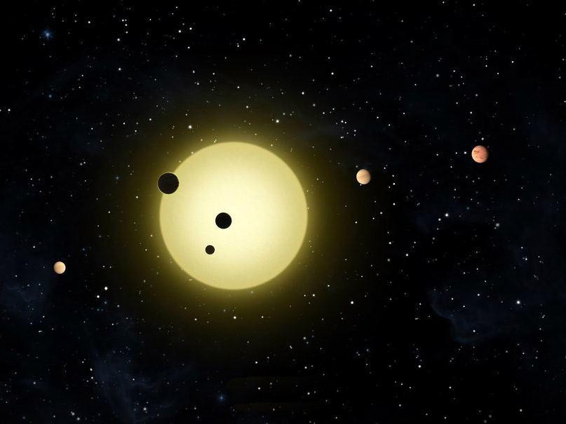 Планета Kepler 11
