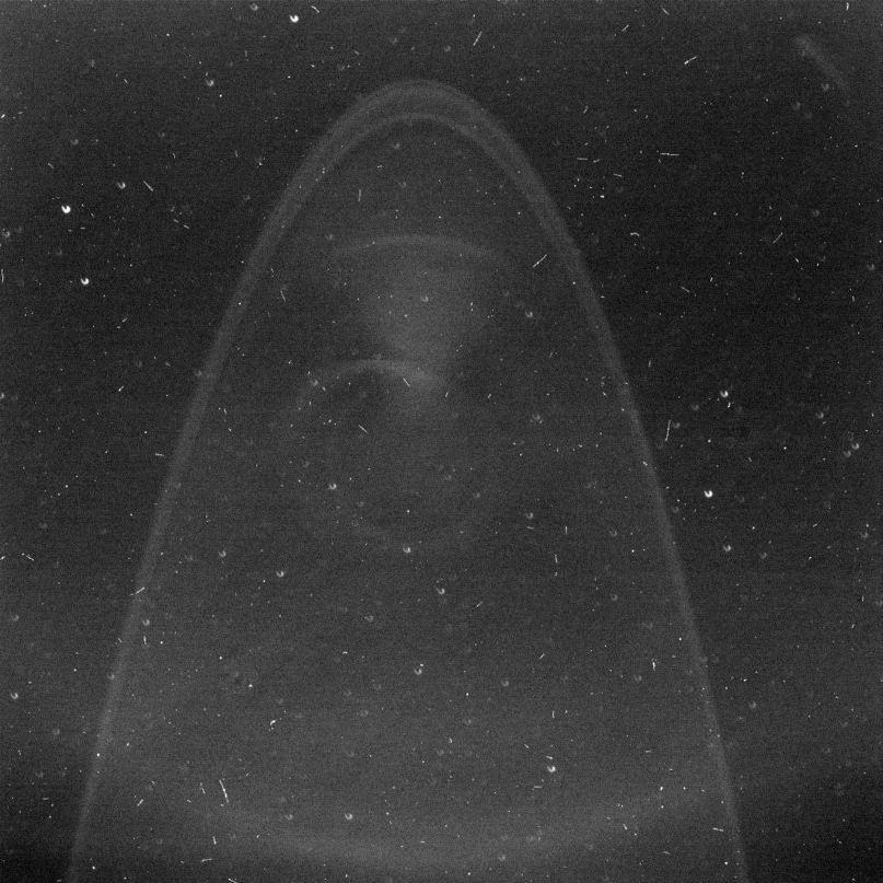 Кольца Юпитера сфотографированные зондом Новые Горизонты
