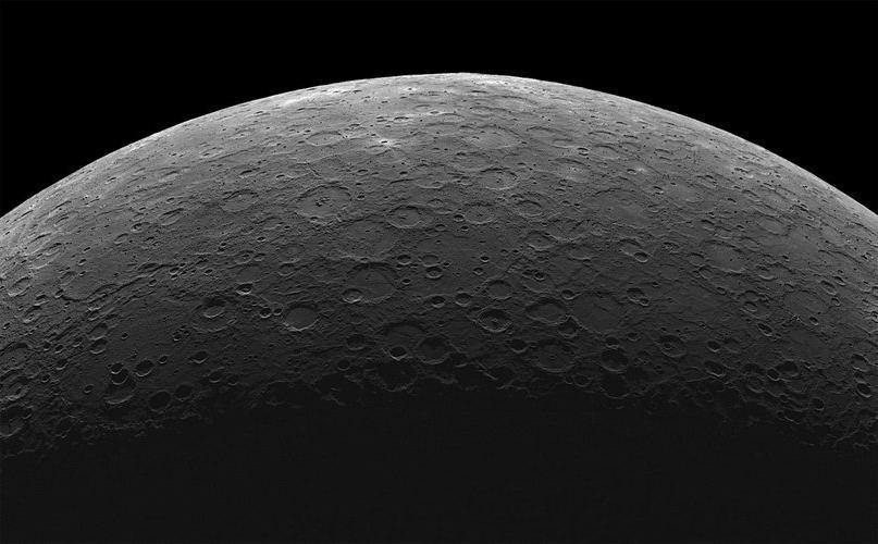 Меркурий с зонда MESSENGER