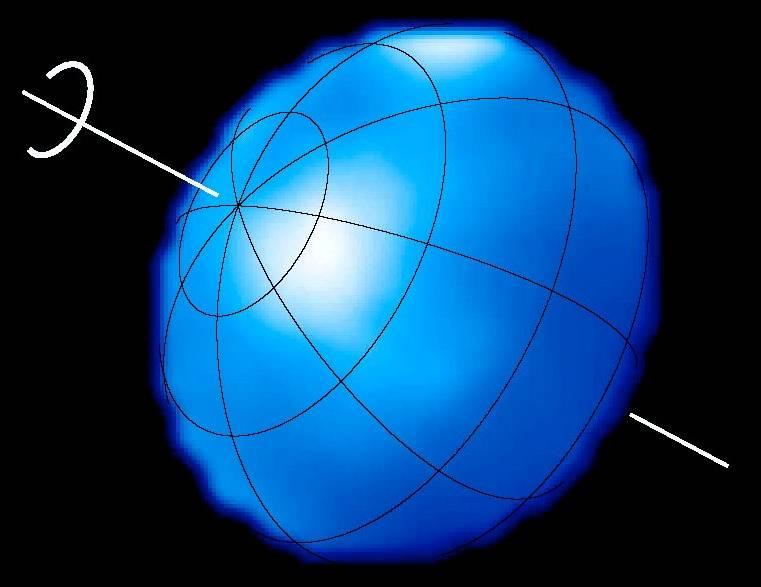 Схема вращения Альтаира