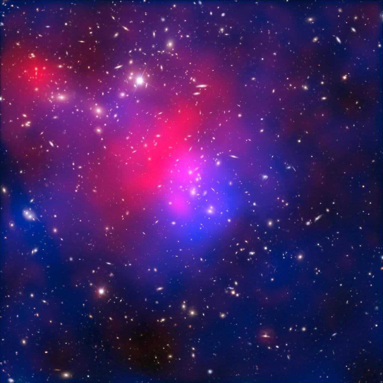 Скопление галактик Абель 2744