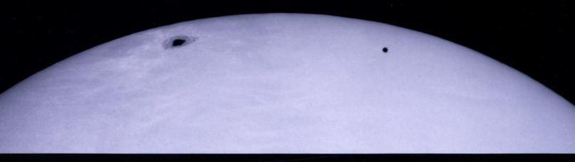 Транзит Меркурия по диску Солнца 8 ноября 2006