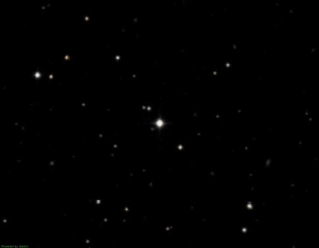 Звезда WASP-1 имеющая экзопланету