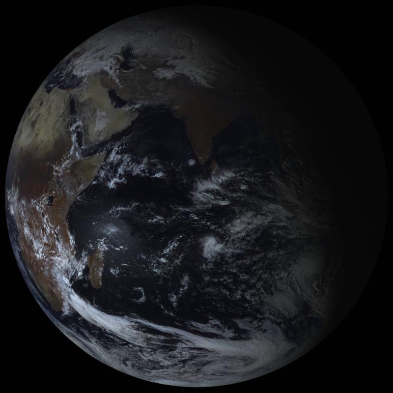 Земля со спутника Электро-Л