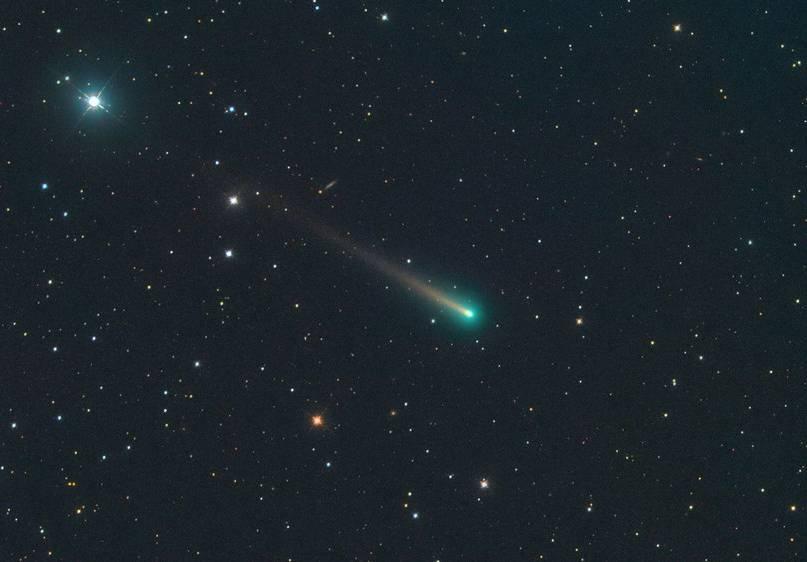 Комета С/2012 S1 ISON в 20см телескоп