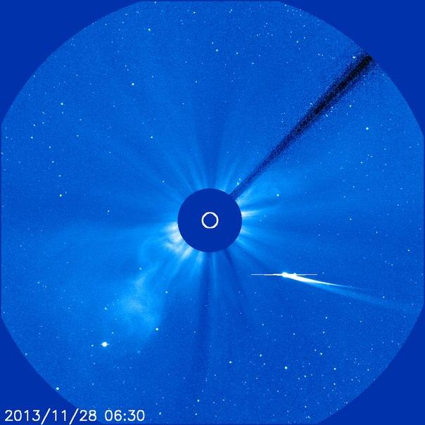 Что случилось с кометой Айсон