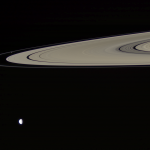 Два спутника и кольцо
