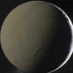 Ледяная поверхность Энцелада