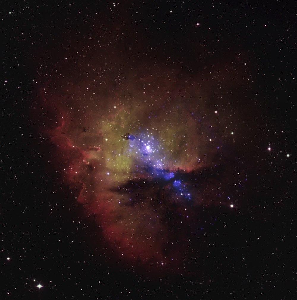 NGC 281 - эмиссионная туманность в созвездии Кассиопея