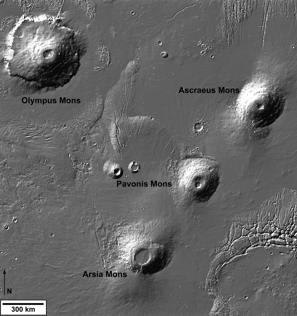 Олимп и три вулкана