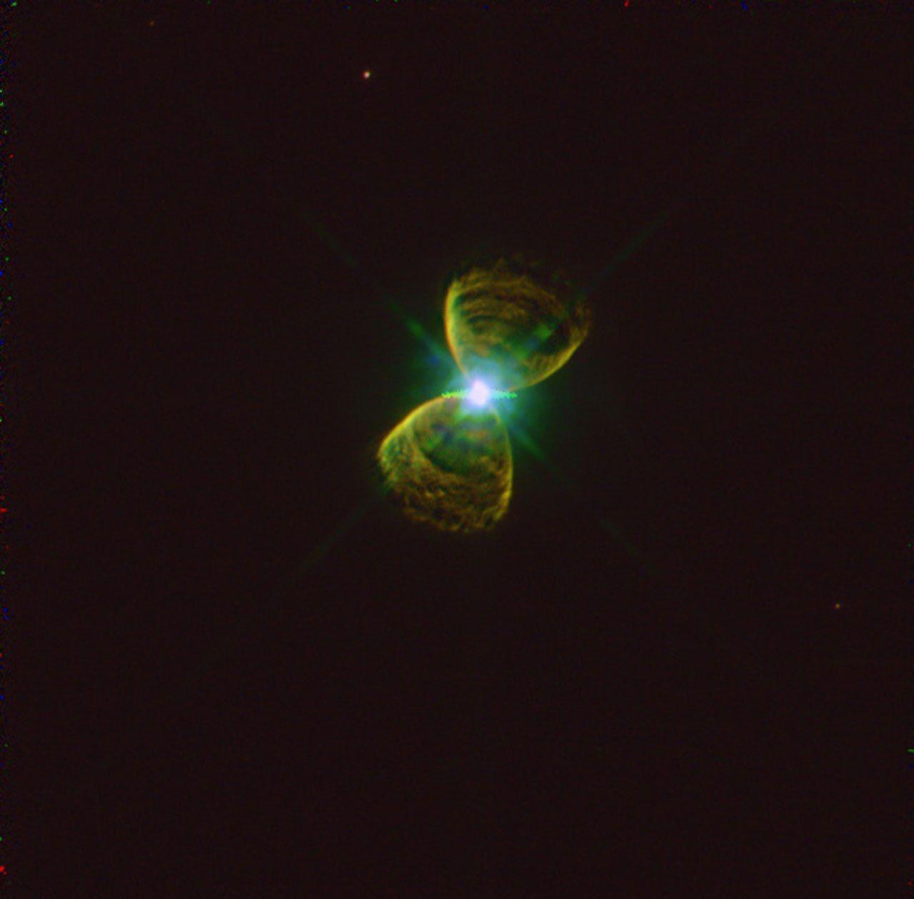 Планетарная туманность PK111-2.1 в созвездии Кассиопея