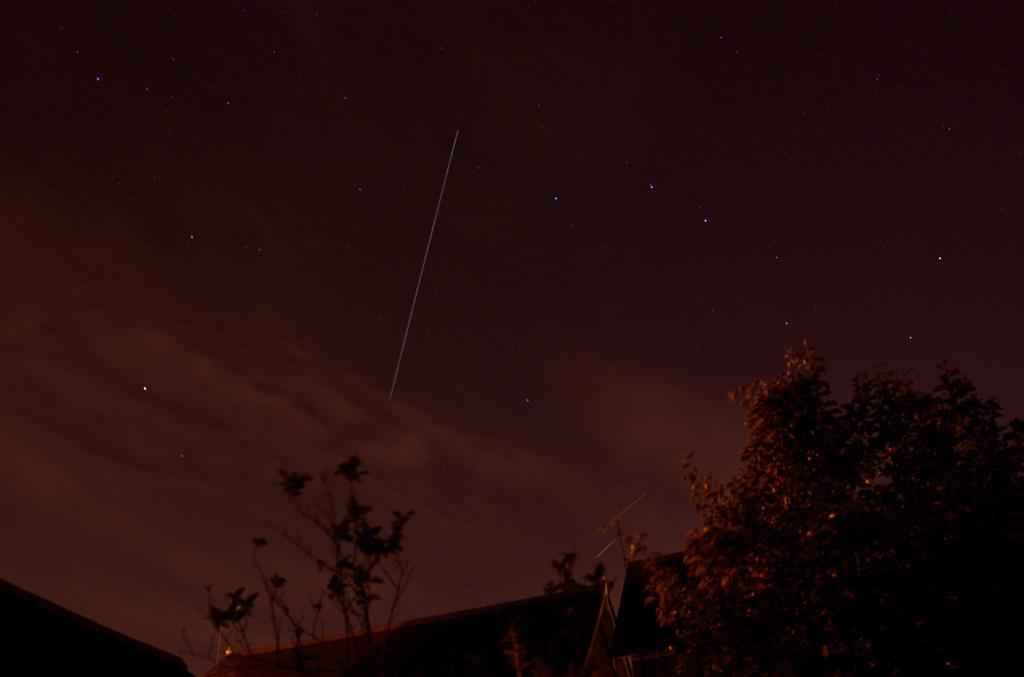 МКС на фоне созвездия Большой Медведицы