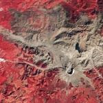 Вулкан Сент-Хеленс вскоре после его извержения в 1980 году.