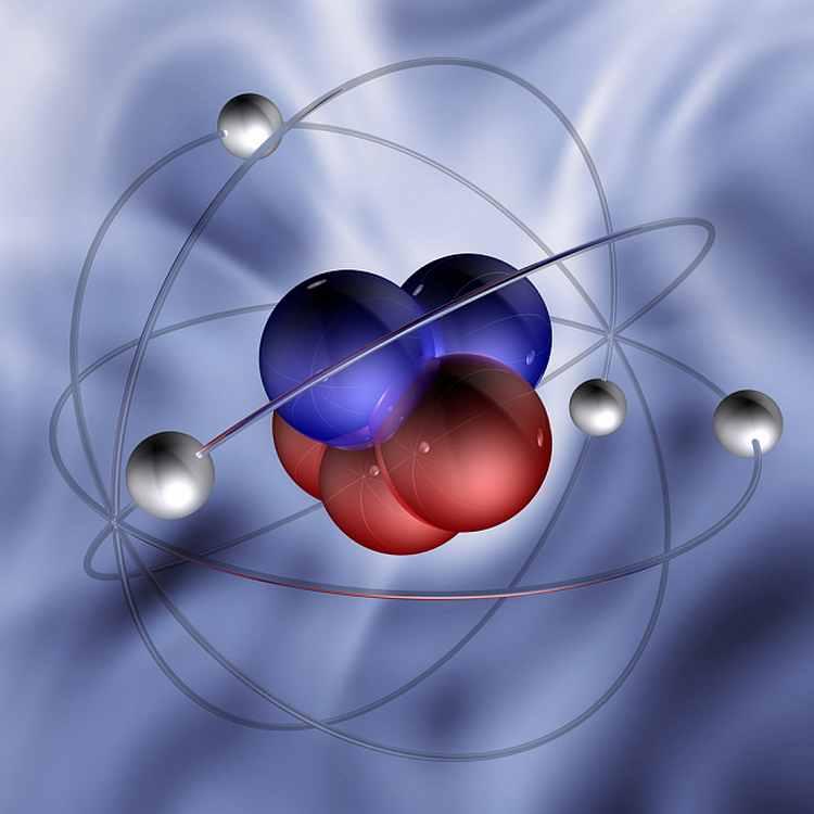 Атом вещества
