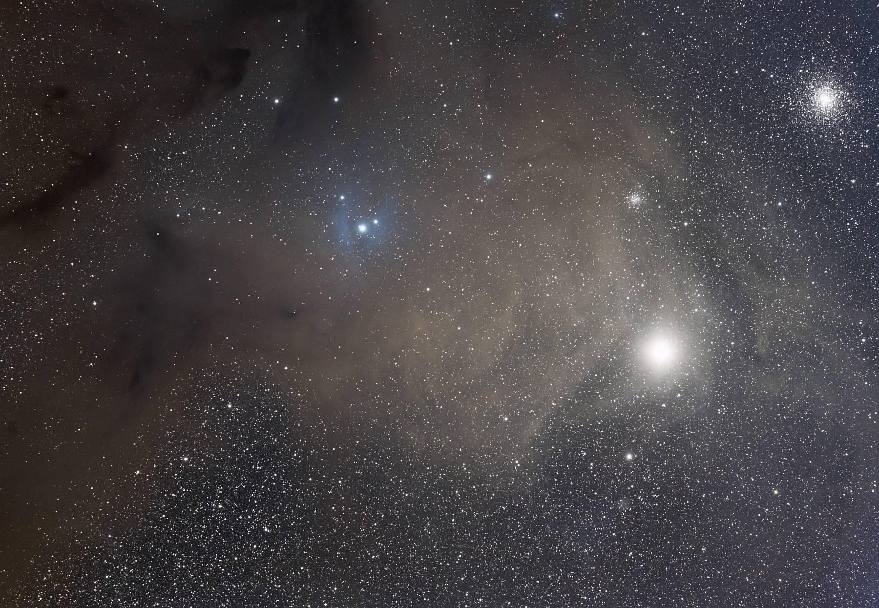 Область вокруг Антареса