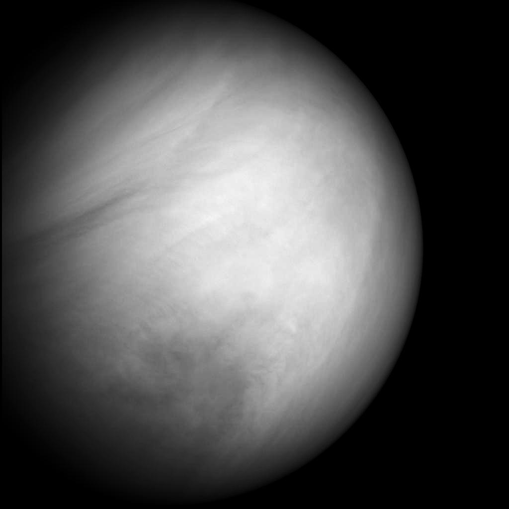 Венера, снимок космического аппарата MESSENGER