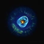 Планетарная туманность NGC 2392 или Эскимос