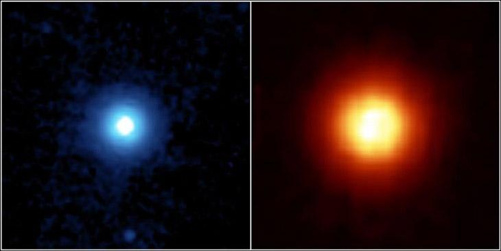 Пылевой диск вокруг планеты