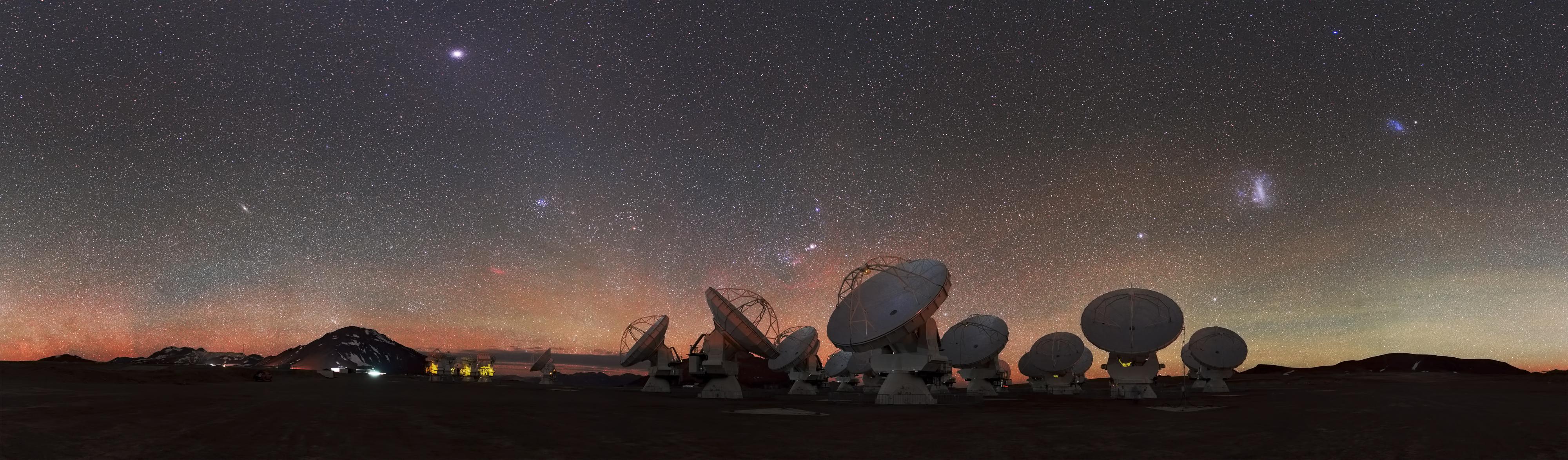Радиотелескопы ALMA