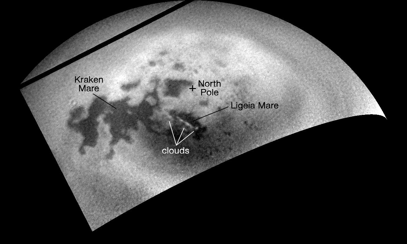 Расположение облаков
