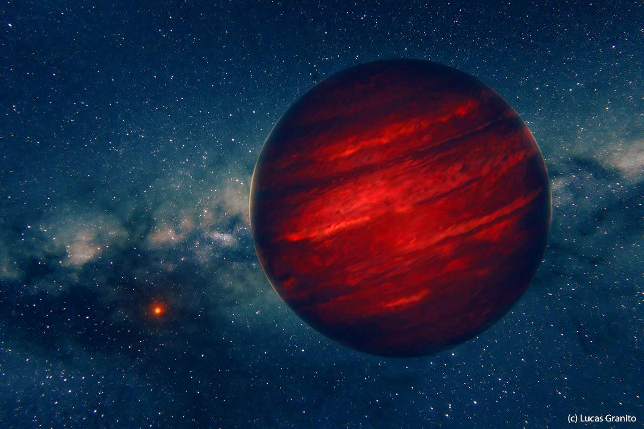 Экзопланета GU Psc b