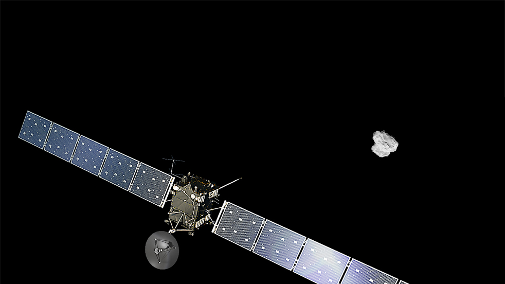 Розетта вблизи кометы