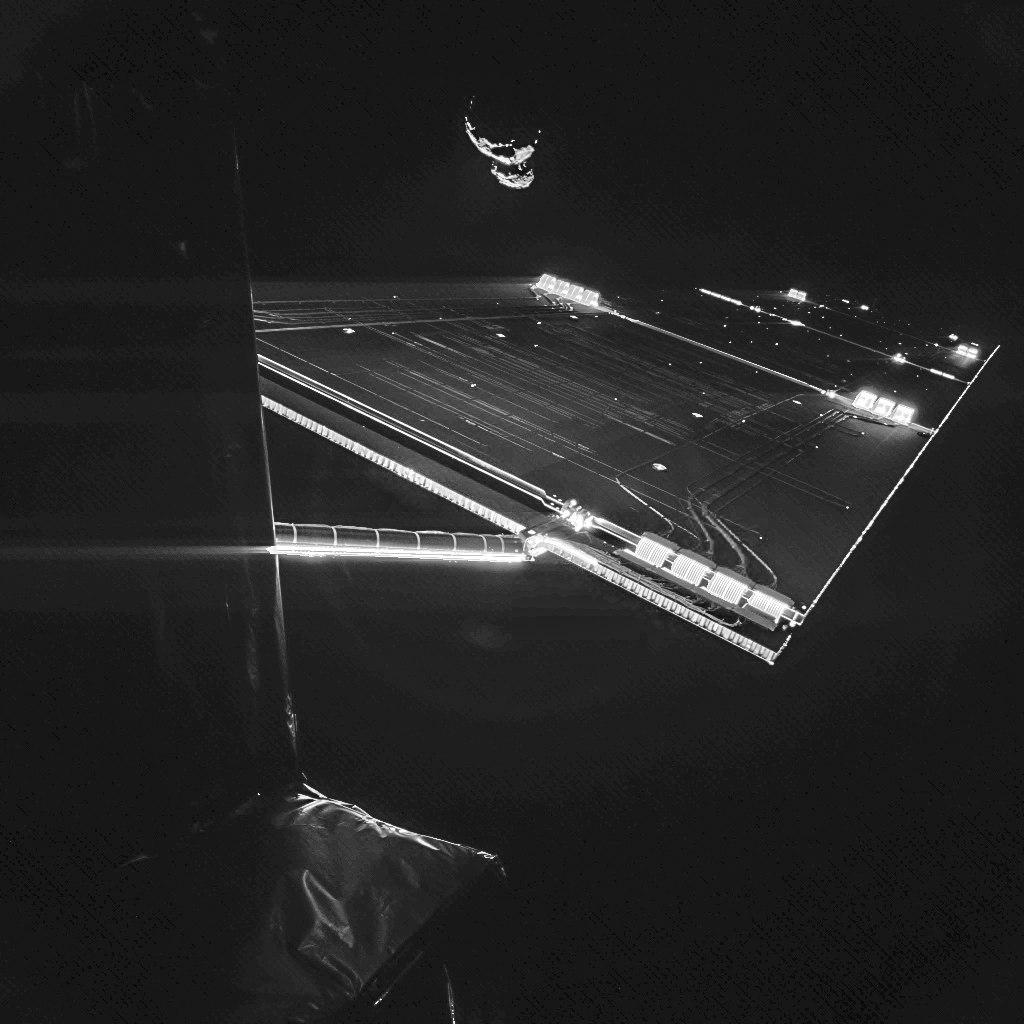 Селфи с кометой