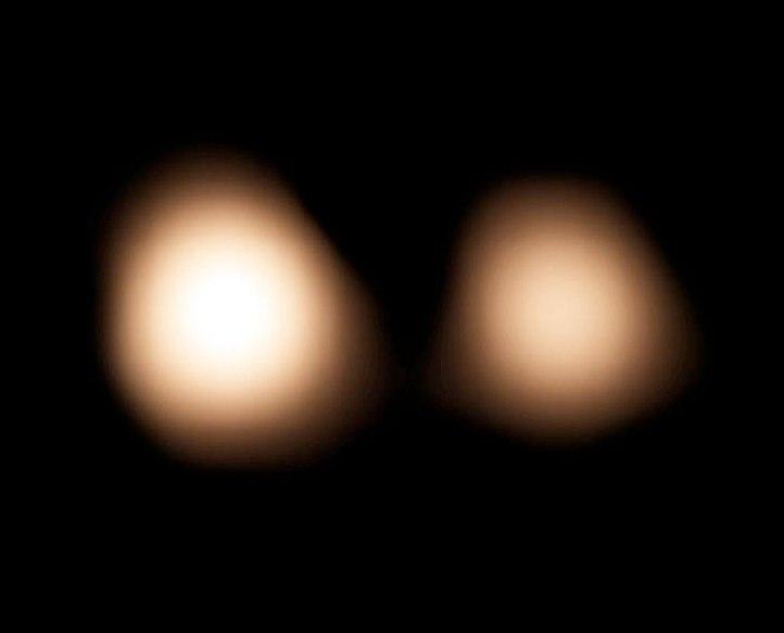 Снимок на основе данных ALMA